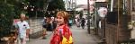 Inga im Sommer-Kimono